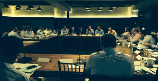 Gareth Jones Co-Hosted Financial Services Venture Capital Alliance annual meeting