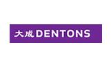 Dentons logo, Passle client